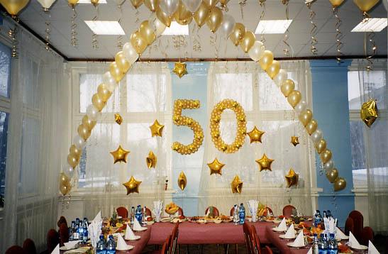 Сценарий поздравлений с 50 летием